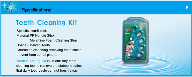 Teeth Cleaning Kit SH005E With 5stick