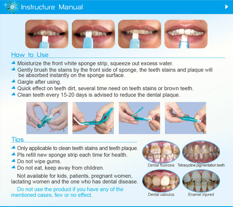 how to use teeth cleaning kit Tooth Scaler Help Remove Plaque. Clean Teeth Like Magic