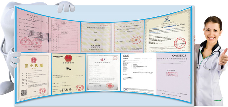 certificate for teeth cleaning kit from XiaMen Share Factory