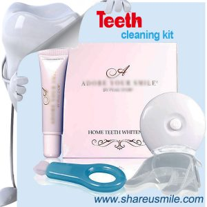 shareusmile OEM-Teeth Cleaning Kit-helps remove stains, tartar and plaque on tooth surfaces