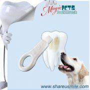 shareusmile SH-PET01-Pet tooth brush- Dog Pet Tooth Tartar Remover