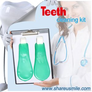 shareusmile SH-MCK03-Teeth Cleaning Kit-The Best At-Home Teeth Whitening Kit a customize take-home kit