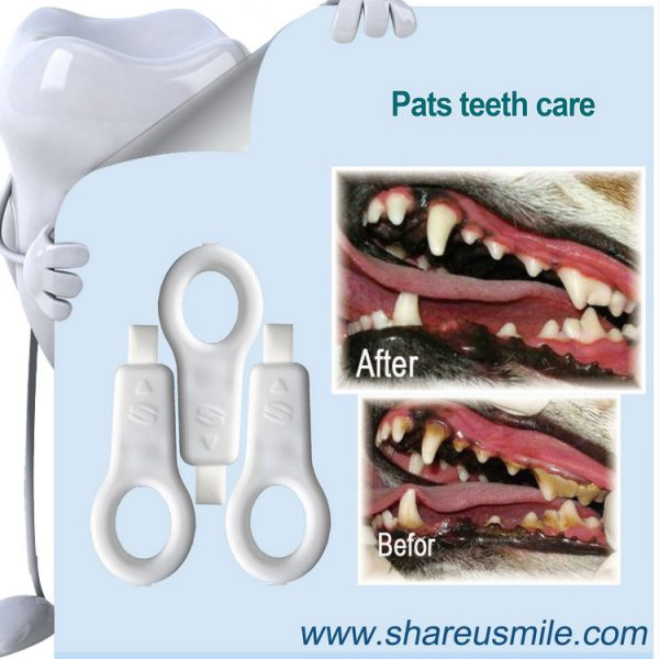 shareusmile SH-PET03-Pet tooth brush- Great Products to Clean Your Dog's Teeth