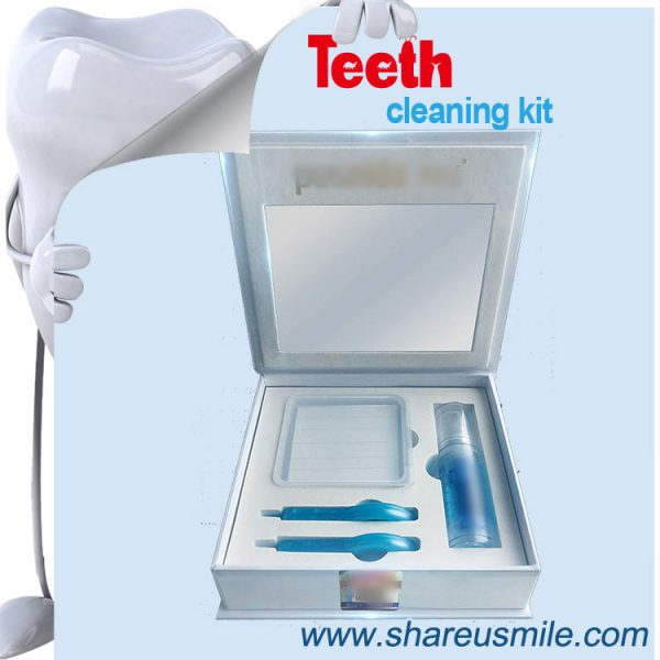 shareusmile SH305-Teeth Cleaning Kit-3 Natural Ways to Whiten Teeth at Home