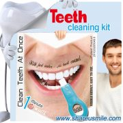 shareusmile SH005-teeth cleaning kit-Professional Teeth Hygienist Tool Set help you to maintain a high level of personal oral hygiene at home