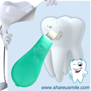 Shareusmile-Upgrade teeth cleaning kit N210 Magically erases and absorbs dental teeth stains