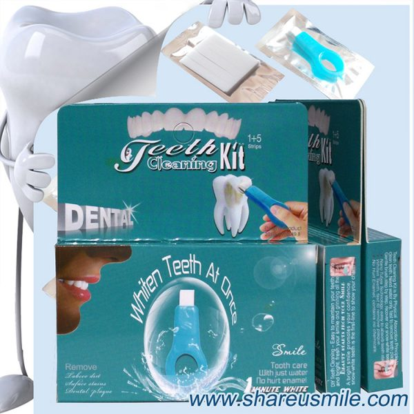 shareusmile Teeth Whitening and Cleaning Home Kit an innovative teeth whitening kit that uses the new nano technology