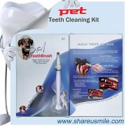 shareusmile pet toothbrush combo pack Home Kits teeth cleaning kit