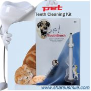 Dog dental care toothbrush products designed for pets
