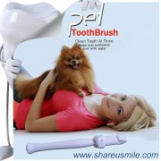 Best dog toothbrush Wholesale shareusmile pet teeth cleaning kit new dog toothbrush