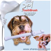 Best dog toothbrush Wholesale shareusmile pet teeth cleaning kit new dog toothbrush stick Pet Products Chinese Manufacturer Fast Shipping