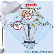 Wholesale Shareusmile New pet toothbrush dog safe and effective teeth cleaning kit