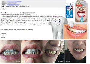 Value-added products for dental clinic services magic teeth cleaning kit