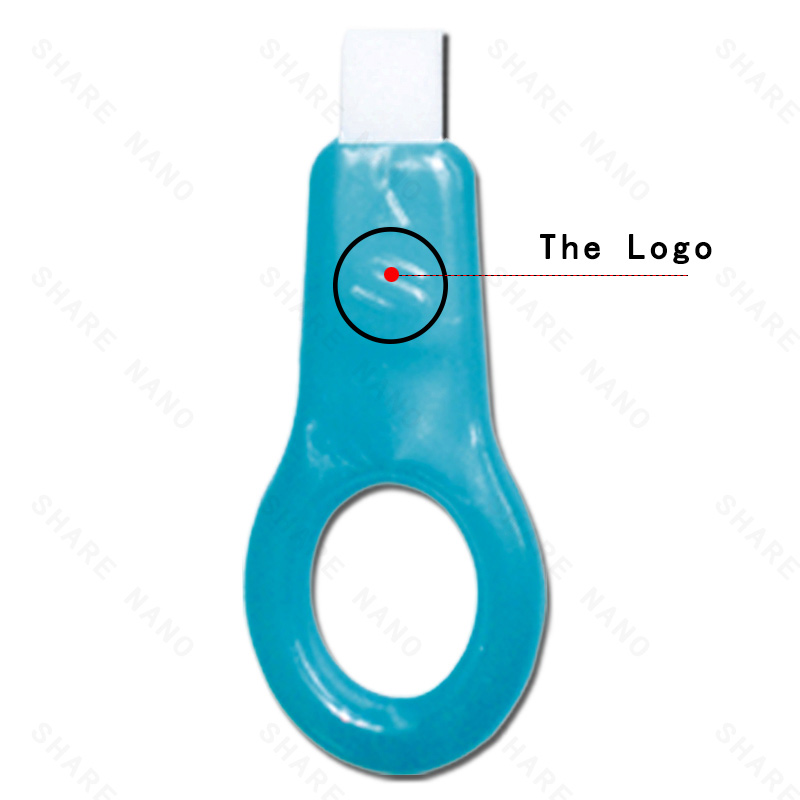 :It's easy to open the teeth cleaning kit fixture