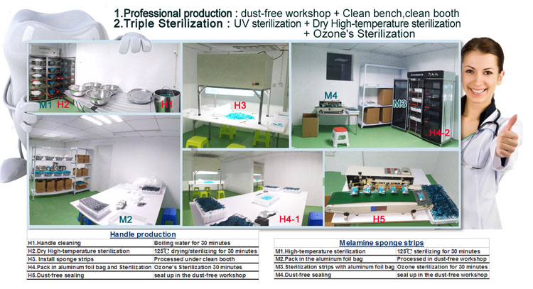 Teeth Cleaning Kit Professional Production and Triple Sterilization