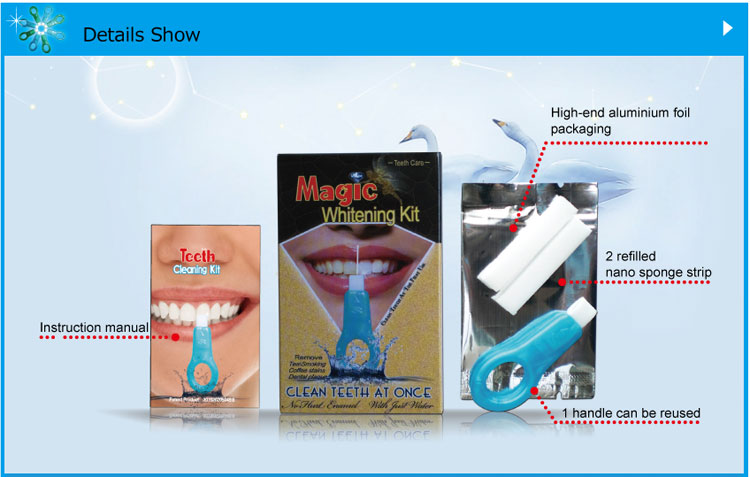 Teeth Cleaning Kit SH102 Package configuration