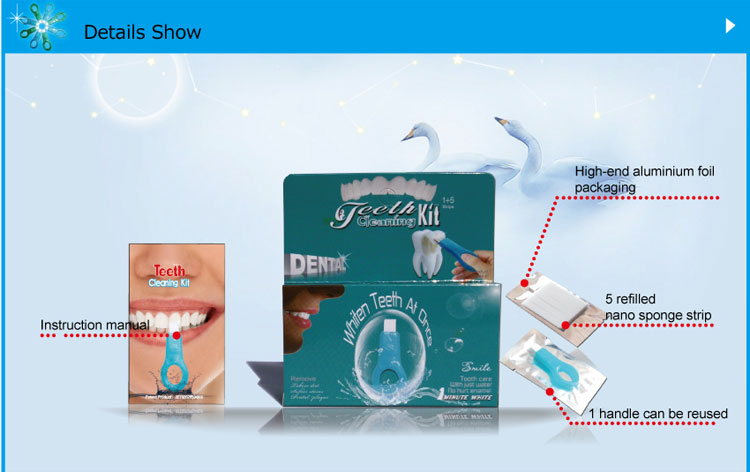 Teeth Cleaning Kit SH105 Package configuration
