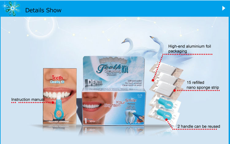 Teeth Cleaning Kit SH215 Package configuration