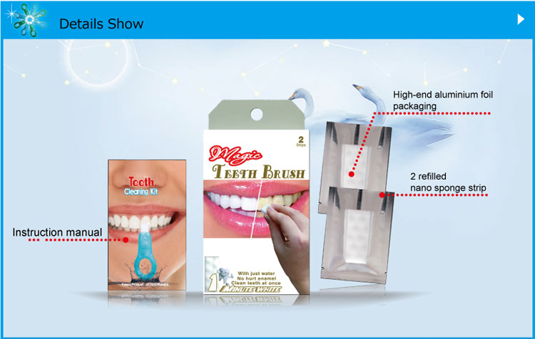 Wholesale Teeth Whitening Strips professional teeth cleaning home kit