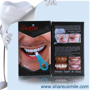 shareusmile SH104-Teeth Cleaning Kit-1-2-minutes-whiten-tooth-effect-with-private-label-teeth-whitening
