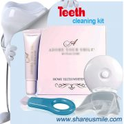 shareusmile SH102-Teeth Cleaning Kit-helps remove stains, tartar and plaque on tooth surfaces OEM is acceptable
