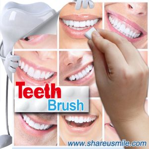 used to clean teeth by the super high density melamine sponge strip Tooth Whitening