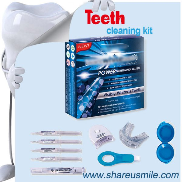 Shareusmile-OEM teeth cleaning kit BEST AT HOME DENTAL TOOLS it could also Supporting other dental products – With Private Label