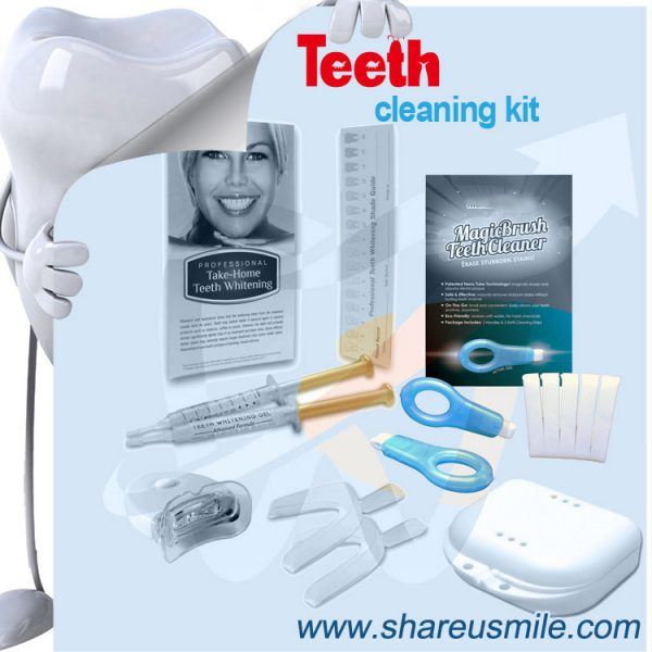 shareusmile oem Teeth Cleaning Kit- help remove stubborn teeth and tartar from teeth
