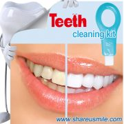 shareusmile SH-MCK03-Teeth Cleaning Kit- turn your yellow teeth into a white and healthy smile