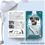 shareusmile SH-PET106-Pet tooth brush Dog Teeth Cleaning Products Best Devices For Dog Oral Hygiene