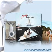 shareusmile SH-PET04-Pet tooth brush-clean surfaces of your pet's teeth