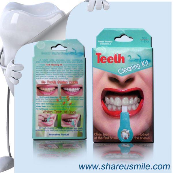 shareusmile SH003–Professional Dental Hygiene Kit Dental Tartar Scraper and Remover Se