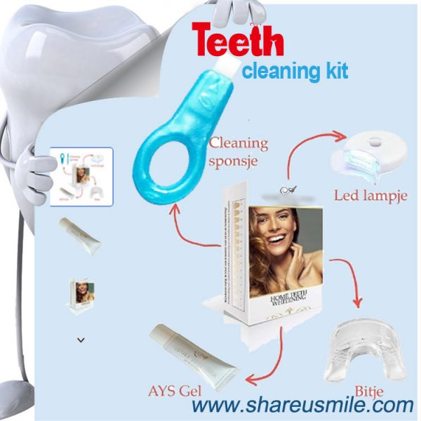 shareusmile SH012-Teeth Cleaning Kit -whiten and maintain your bright smile OEM is welcome
