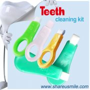 shareusmile teeth cleaning kit-Professional Oral Care Kit that tools for safe, at-home cleaning with Custom Logo Instant Teeth Whitening Kits Free Sample Avaiable