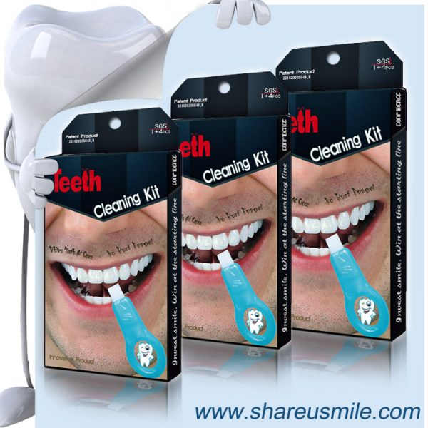 shareusmile teeth cleaning kit-Professional Oral Care needs water only fast to remove teeth plaque