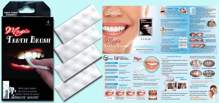 New-Technology-Nano-2018-Dental-Magic-Teeth-Cleaning-Kit-whitening stips  .wholesale quality teeth cleaning strips