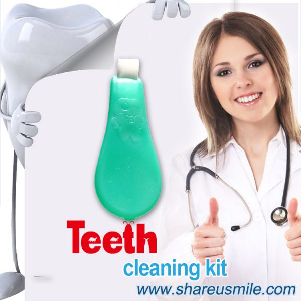 in office safe teeth whitening kit is Shareusmile-New-teeth-cleaning-kit