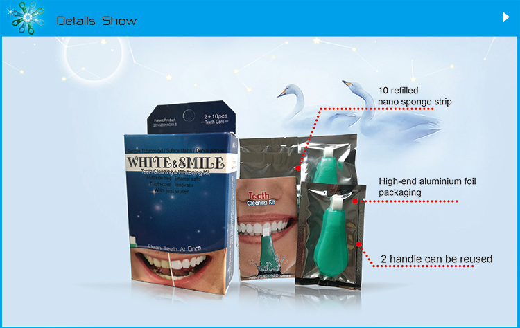 N210-upgraded teeth cleaning & whitening kit wholesale