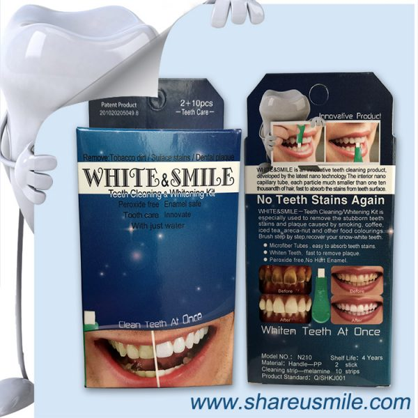 Shareusmile-New-teeth-cleaning-kit-N210 Tools Kit for Home Use to Remove Plaque