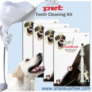 pet use toothbrush for dog Whitening tooth cleaning products from shareusmile