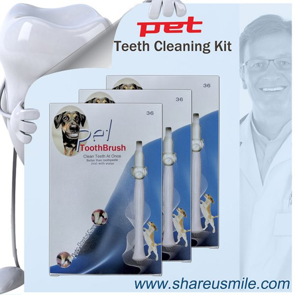 shareusmile pet toothbrush combo pack Innovative Product