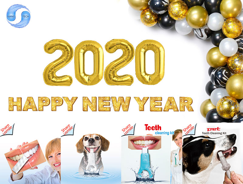share-nano-teeh cleaning kit factory wish you 2020 happy new year